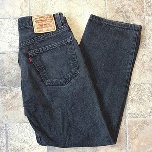 Other - Levi's 550 relaxed fit black jeans 33X30
